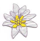 Edelweiss-Applikationen Trachten Wiesn Patch Aufbügler 6cm