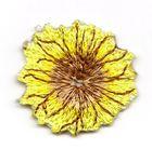 Sonnenblume Folklore Applikation Durchmesser 3,4cm