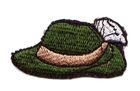 Tiroler-Hut Trachten Wiesn Applikation Patch 6 x 3cm