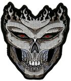 Applikation Biker Tribal Totenkopf 15 x 17cm