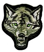 Applikation Patch Sticker Wolf 9 x 10 cm AA513-1