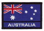 1 Aufnäher Sticker Patch Flagge Australien 7,2 x 4,8cm