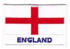 1 Aufnäher Sticker Patch Flagge England 4,5 x 3cm