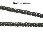 10m Posamentenborte 5mm breit Farbe: Schwarz
