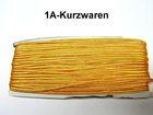 32m Litze 2mm breit Farbe: Gelb-Orange AA520-060