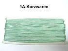 32m Litze 2mm breit Farbe: Hellgrün AA520-100