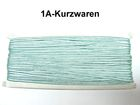 32m Litze 2mm breit Farbe: Blau-Grün AA520-101
