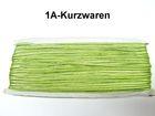 32m Litze 2mm breit Farbe: Garsgrün AA520-109