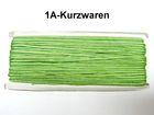 32m Litze 2mm breit Farbe: Laubgrün AA520-111