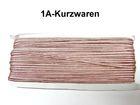 32m Litze 2mm breit Farbe: Altrosa AA520-146