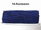 32m Litze 2mm breit Farbe: Dunkelblau AA520-158