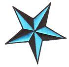Nautik Star Stern Farbe: Schwarz-Türkis Durchmesser 9cm