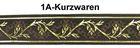 10m Mittelalter Borte Webband 50mm breit Farbe: Braun-Gold