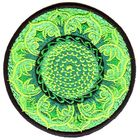 Applikation Tribal Patch Om Aum Mandala Ø 8 cm