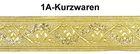 10m Mittelalter Borte Webband 50mm breit Farbe: Lurex-Gold