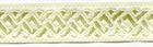 10m Mittelalter Borte Webband 50mm breit Farbe: creme