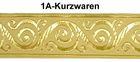 10m Jacquard Borte Webband 33mm breit Farbe: Beige