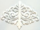 Applikation Patch Tribal 15,7 x 12cm Farbe: Weiss
