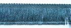 1m Fransen-Borte 32mm breit Si71-7, AA178-20 Farbe: Blau