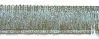 1m Fransen-Borte 32mm breit Si71-8, AA178-21 Farbe: Dunkelgrau