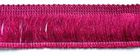1m Fransen-Borte 32mm breit Si71-9, AA178-22 Farbe: Bordeaux
