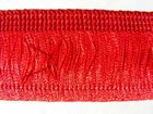 1m Fransen-Borte 32mm breit Si71-11, AA178-13 Farbe: Rot