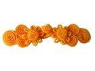 Posamentenverschlüsse K25900-12 Farbe: Orange