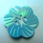 Pailletten-Blüten Durchmesser 27mm AA261-3 Farbe: Blau