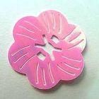 Pailletten-Blüten Durchmesser 27mm AA261-5 Farbe: Rosa
