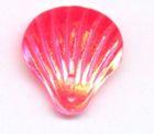 40 Stück Muscheln groß Farbe: pink