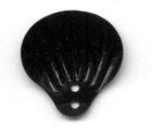100 Gramm Muscheln groß Farbe: Schwarz