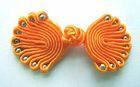 Posamentenverschlüsse mit Perlen AA300-6 Farbe: Orange