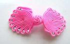 Posamentenverschlüsse mit Perlen AA300-9 Farbe: Pink