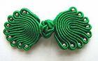 Posamentenverschlüsse mit Perlen AA300-11 Farbe: Grün