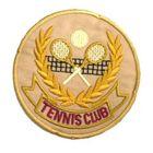 Applikation Tenni-Club AA361-2 Farbe: Beige