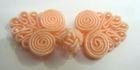 Posamentenverschlüsse mit Perlen AA331-18 Farbe: Lachs