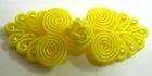 Posamentenverschlüsse mit Perlen AA331-20 Farbe: Gelb