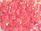 100 Gramm Pailletten 5mm Farbe: Pink