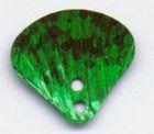 50 Stück Muscheln klein Farbe: grün