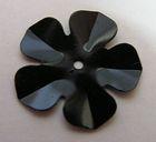 Paillettenblüten Durchmesser 20mm Farbe: Schwarz AF104-1