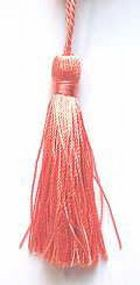Quasten, Kordeln bunt 7cm lang AF-5726-02 Farbe: Apricot
