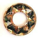 Ringe Durchmesser 16mm AM21-8 Farbe: Hellbraun