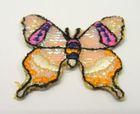 1 Stück Applikation Patch Schmetterlinge AF76-2