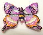 1 Stück Applikation Patch Schmetterlinge AF76-3