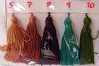 Quasten Nr. 9 Farbe: Türkis