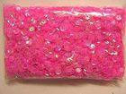 15 Gramm Pailletten Farbe: Pink-Transparent Si40-12