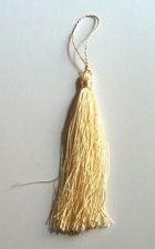 Quasten 15,5cm lang OR03-2 Farbe: Beige