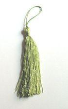Quasten 15,5cm lang OR03-9 Farbe: Hellgrün