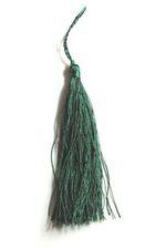 Quasten 15,5cm lang OR03-10 Farbe: Grün
