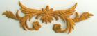 1 Applikation Tribal 10,5 x 2,9cm Farbe: Lurex-Gold